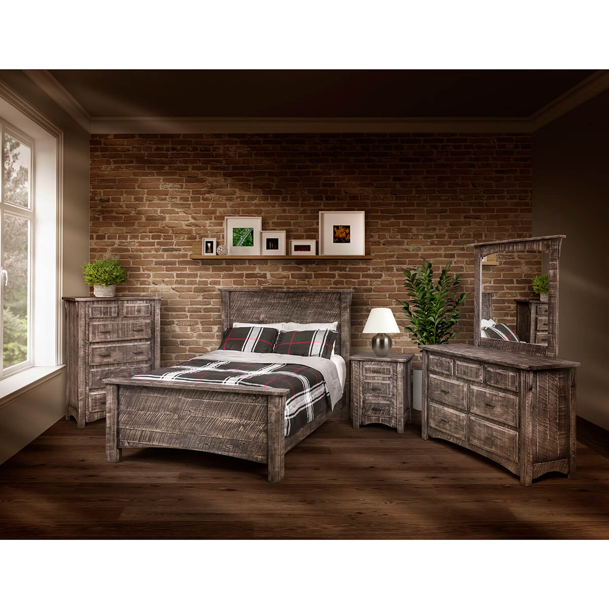 Bedroom Furniture Amish Built Circles In The Wind Chesterton In